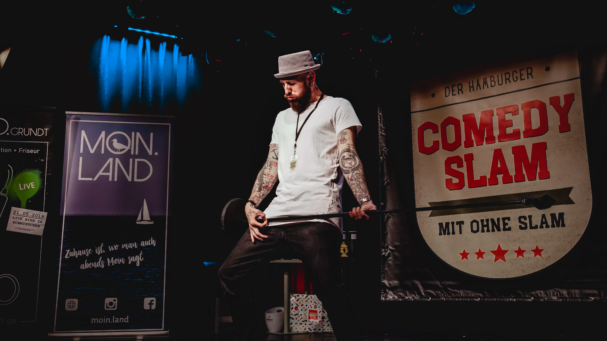 Finale Comedy Slam Hamburg – Eventfotografie